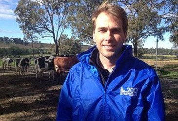 Technology age reaches dairy pastures