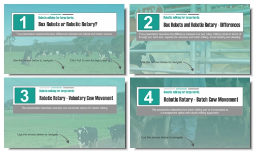 New resource for milking robots