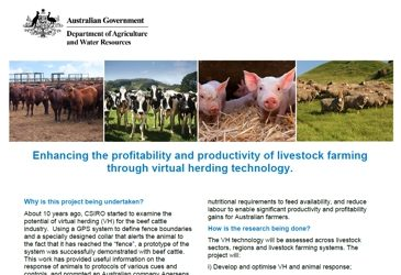 New Virtual Herding Project announced